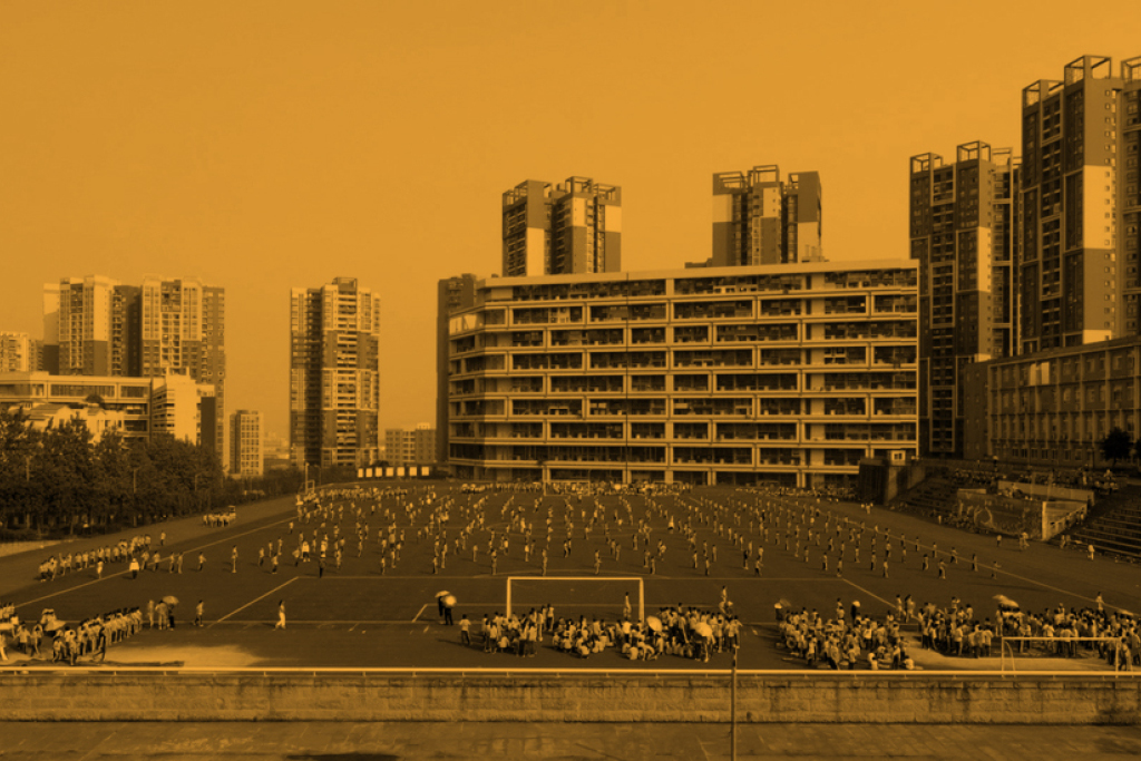 Cartel ciclo La ciudad que queremos. Una mirada fílmica